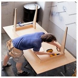 Сборка столов по низким ценам в Саратове от специалистов