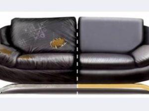 Перетяжка кожаного дивана в Саратове